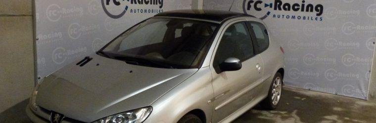 Peugeot 206 quiksilver sarl fc racing automobiles for Reprise 206 garage