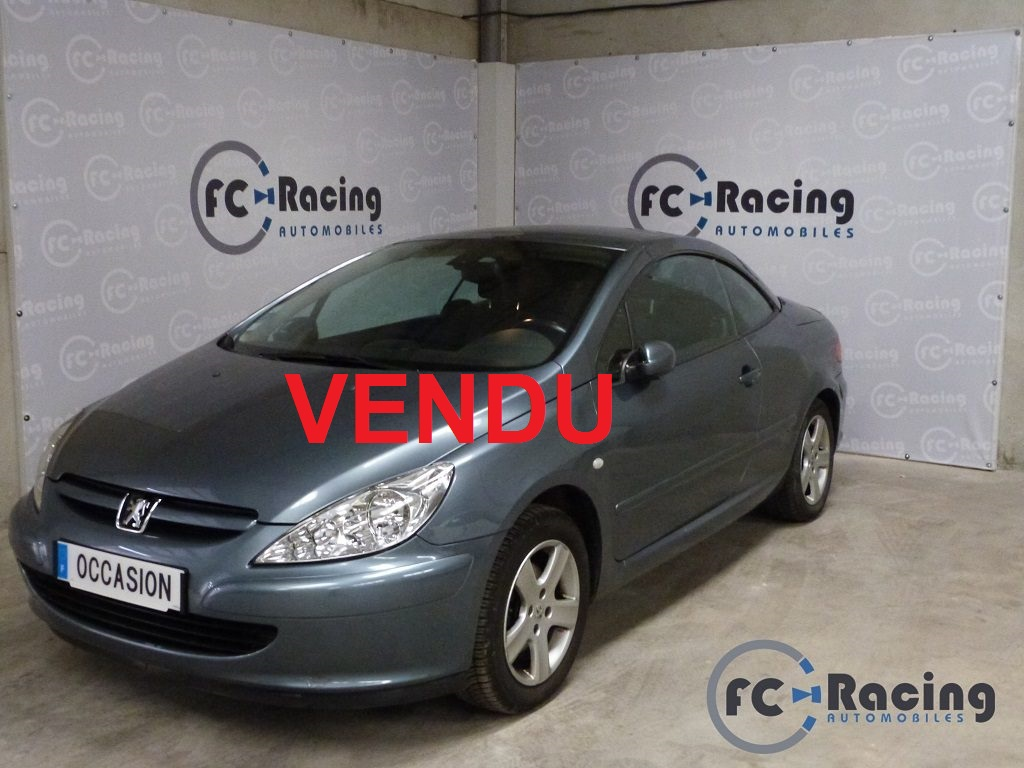 peugeot 307 cc 1 6 105000 kms sarl fc racing automobiles. Black Bedroom Furniture Sets. Home Design Ideas